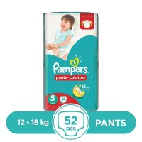 Pampers - 12 ~ 18 Kg - 52 Pieces - Pants