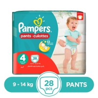 Pampers Pants 9 To 14kg - 28Pcs