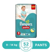 Pampers Pants 9 To 14kg - 52Pcs