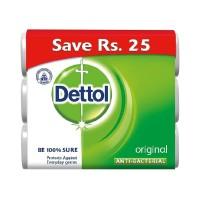 Dettol Original Anti-Bacterial Soap (Pack of 3) - 300gm