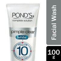 Pond's Pimple-Clear White Multi Action Facial Wash 100g