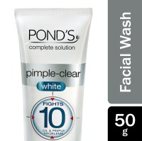 Pond's Pimple-Clear White Multi Action Facial Wash 50g
