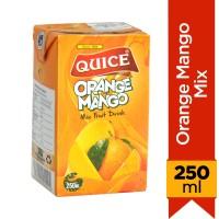 Quice Orange Mango Mix Juice - 250ml