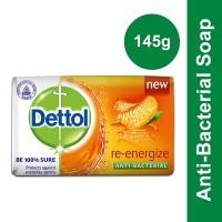 Dettol Re-energize Anti-Bacterial Soap - 145gm