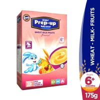 Searle Prep-Up Wheat, Milk and Fruits Baby Cereal (6+ Months) - 175gm