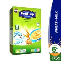 Searle Prep-Up Wheat and Milk Baby Cereal (6+months) - 175gm