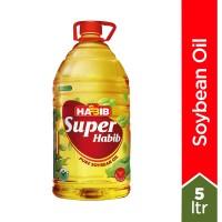 Super Habib Soybean Oil Bottle - 5ltr