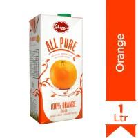 Shezan All Pure Orange Juice - 1Ltr