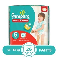 Pampers Pants 12 To 18kg - 26Pcs