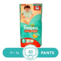 Pampers Pants 16+kg - 48Pcs