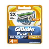 Gillette Fusion Proglide Power Cartridges (Pack Of 4)
