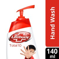 Lifebuoy Total 10 Hand Wash 140ml Pump