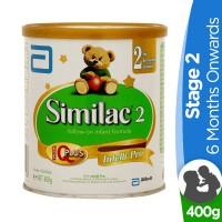 Similac 2 follow-up formula (6 months onward) - 400gm