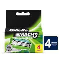Gillette Mach3 Sensitive Razor Blades (4-Pack)