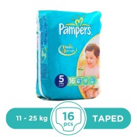 Pampers Taped 11 To 25kg - 16Pcs