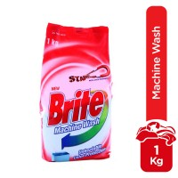 Brite Machine Wash Detergent Powder - 1kg