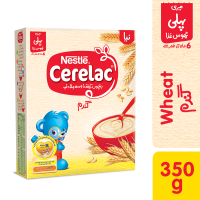 Nestle Cerelac Wheat (6+ months) - 350gm