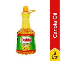 Dalda Canola Oil Bottle - 3Ltr