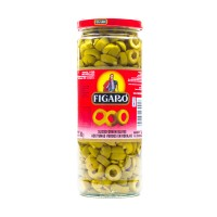 Figaro Green Slice Olives 450g