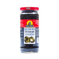 Figaro Black Sliced Olives 240g