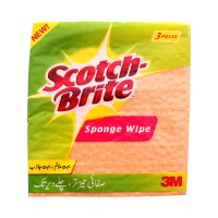 Scotch Brite Sponge Cloth (pack of 3)