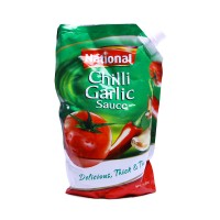 National Sauce Chilli Garlic Pouch 1kg