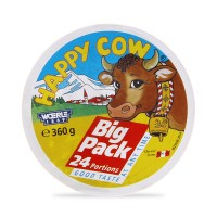 Happy Cow Portion Cheese Regular 360g (Pack of 24)