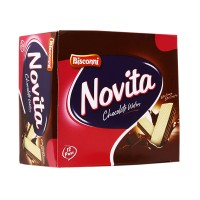 Bisconni Novita Wafers Chocolate (Pack of 12)