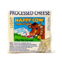 Happy Cow Processed Cheese (Light) (Pack of 10)