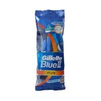 Gillette Blue II Plus Disposable Razor (3-Pack)