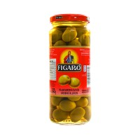 Figaro Olives Green Whole 340g