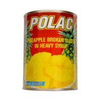 Polac Pineapple Broken Slices Tin 565g