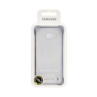 Samsung Galaxy A3 Clear Cover Black (Transparent)