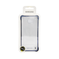 Samsung Galaxy A5 Clear Cover Black (Transparent)