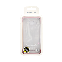 Samsung Galaxy A3 Clear Cover Pink (Transparent)
