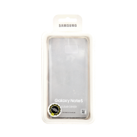 Samsung Galaxy Note 5 Clear Cover Gold (Transparent)