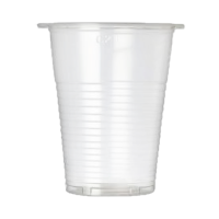 Plastic Disposible Cups Plain (Pack Of 100)