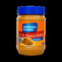 American Garden U.S. Peanut Butter Chunky 510g