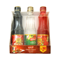 National Sauces Trio Pack 300ml (Pack Of 3)