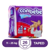Canbebe Taped 11 To 25kg - 26Pcs
