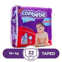 Canbebe - 16+ Kg - 32 Pieces - Taped