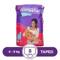 Canbebe Taped 4 To 9kg - 8Pcs