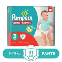 Pampers - 6 ~ 11 Kg - 31 Pieces - Pants